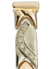 Золотой браслет для часов  316009 весом 14.5 г  стоимостью 53650 р.