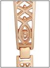Золотой браслет для часов  5104005 весом 14 г  стоимостью 50386 р.