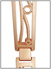 Золотой браслет для часов  5104006 весом 14 г  стоимостью 50386 р.