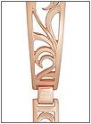 Золотой браслет для часов  5104009 весом 13 г  стоимостью 46787 р.