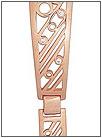Золотой браслет для часов  5164003 весом 13 г  стоимостью 48100 р.