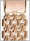 Мужской золотой браслет 42002 весом 30 г  стоимостью 107970 р.