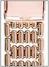 Золотой браслет для часов браслеты для часов из золота 18 мм 42003 весом 28 г  стоимостью 100772 р.