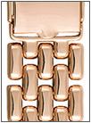 Золотой браслет для часов браслеты для часов из золота 18 мм 780 весом 38 г  стоимостью 136762 р.