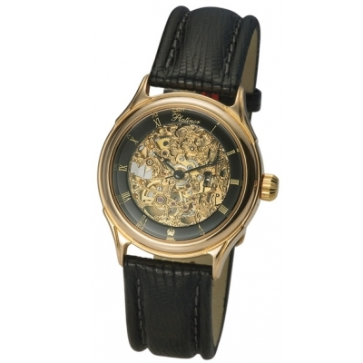 "Мужские золотые часы ""Скелетон"" 31 г AN-41950Д.556"