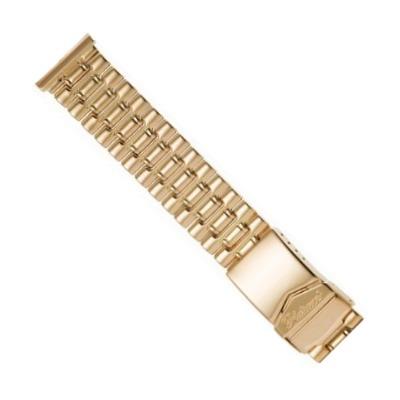 золотой браслет для мужских часов