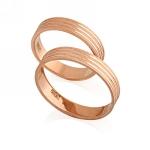 Обручальное кольцо классическое E108013 весом 5.83 г  стоимостью 15992 р.