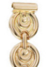 Браслет для часов из золота 51259 весом 11.7 г  стоимостью 42109 р.