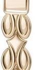 Браслет для часов из золота 54267 весом 17 г  стоимостью 61183 р.