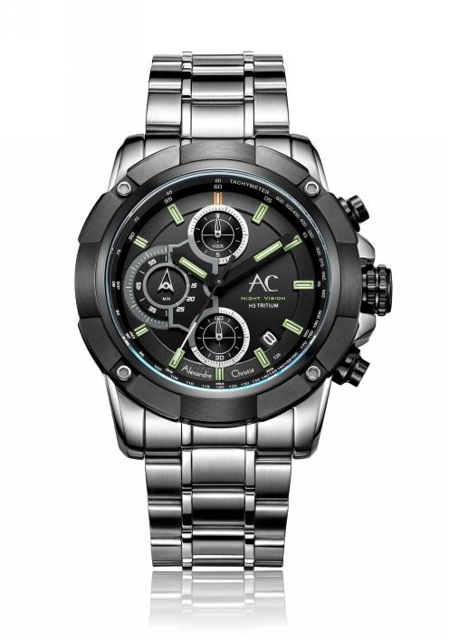 Мужские часы с водозащитой Alexandre Christie 0 г 9203NMCBTBBA