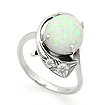 Серебряное кольцо с опалом SV-0363-350 весом 3.55 г  стоимостью 2200 р.