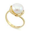 Золотое кольцо с жемчугом SL-2135-500 весом 6.5 г  стоимостью 28600 р.
