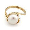 Кольцо с белым жемчугом SL-2837-370 весом 3.7 г  стоимостью 13320 р.