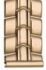 Браслет для часов из золота 42024-1 весом 40 г  стоимостью 143960 р.