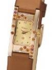 Кварцевые золотые часы «Мадлен» AN-90557.406 весом 7.5 г