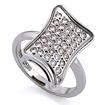 Золотое кольцо с бриллиантами SLV-K247 весом 5.36 г  стоимостью 72000 р.