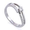 Золотое кольцо с бриллиантами SLV-K269 весом 2.17 г  стоимостью 23400 р.