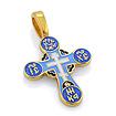 Нательный православный крест KSZE005-12 весом 3.94 г  стоимостью 4280 р.