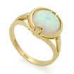 Золотое кольцо с белым опалом SL-2844-370 весом 3.7 г  стоимостью 16650 р.
