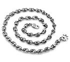 Серебряная цепь байкера «Черпа-2» SLY-8011 весом 110 г  стоимостью 52000 р.