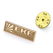Золотой значок EKF-001 весом 2.6 г