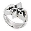 Серебряное мужское кольцо «Лилия» SLY-0105 весом 12 г  стоимостью 7500 р.