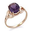 Золотое кольцо с александритом (синт.) SL-0249-350 весом 3.3 г  стоимостью 11616 р.