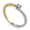 Золотое кольцо с бриллиантами SL-5010-106 весом 1.06 г  стоимостью 8600 р.