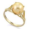 Золотое кольцо с золотым жемчугом SL-0259-310 весом 3.05 г  стоимостью 12200 р.