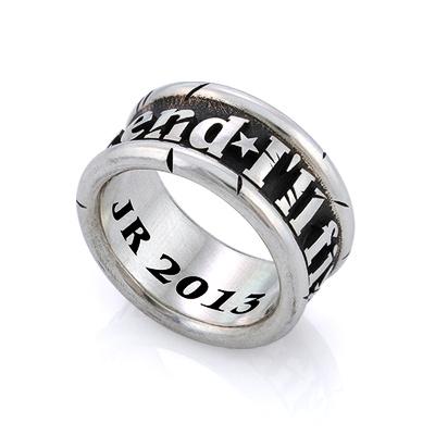 Мужские кольца из серебра спб
