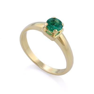 Кольцо с ярким изумрудом 2.6 г SL-17801-260
