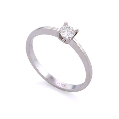 Золотое кольцо с бриллиантами 1.93 г SLY-0217-195