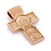 Крестик нательный православный 'Нерукотворный образ Господа нашего Иисуса Христа, Архангел Михаил' SLD-007-1100 весом 10.5 г  стоимостью 61950 р.