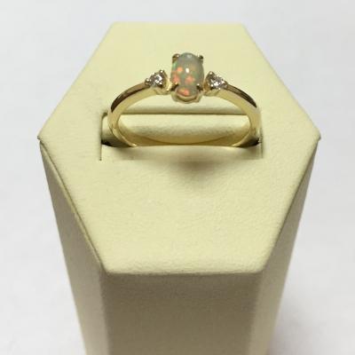 Кольцо с натуральным опалом 2.35 г SL-0213-235