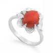 Серебряное кольцо с кораллом SL-0223-305 весом 3.05 г  стоимостью 1800 р.