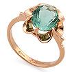 Кольцо из золота <em>с аквамариновым <noindex>кварцем</noindex></em> SL-0223-340 весом 3.4 г  стоимостью 14960 р.