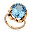 Кольцо с топазом (голубым) SL-0225-522 весом 5.22 г  стоимостью 29232 р.