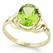 Кольцо с хризолитом SL-0249-296 весом 2.96 г  стоимостью 15300 р.