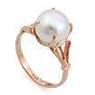Кольцо с белой жемчужиной SL-0255-399 весом 3.99 г  стоимостью 15960 р.