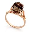 Кольцо с раухтопазом из золота SL-0255-415 весом 4.15 г  стоимостью 17223 р.