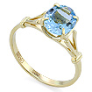 Золотое кольцо с натуральным аквамарином SL-0265-223 весом 2.23 г  стоимостью 39000 р.