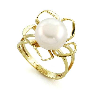 Кольцо с жемчугом  5.5 г SL-0296-469