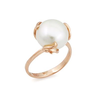 Кольцо из золота с крупным жемчугом 5.23 г SL-2119-523