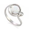 Серебряное кольцо с опалом (синтетика) SL-2125-245 весом 2.44 г  стоимостью 1200 р.