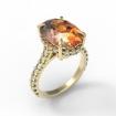 Золотое кольцо на заказ SL-2141-560 весом 5.6 г
