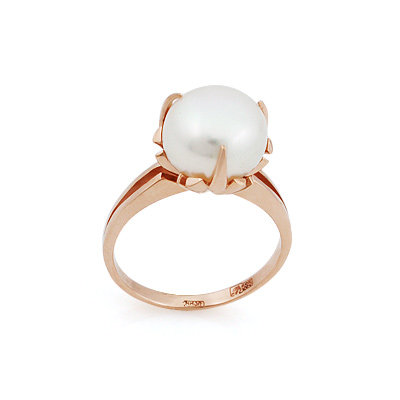 Золотое кольцо с жемчугом 5.17 г SL-2144-517