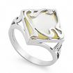 Серебряное кольцо с перламутром SL-2146-420 весом 4.2 г  стоимостью 1650 р.