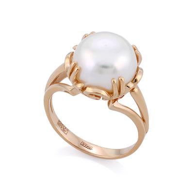 Кольцо с большой жемчужиной 6.72 г SL-2153-672