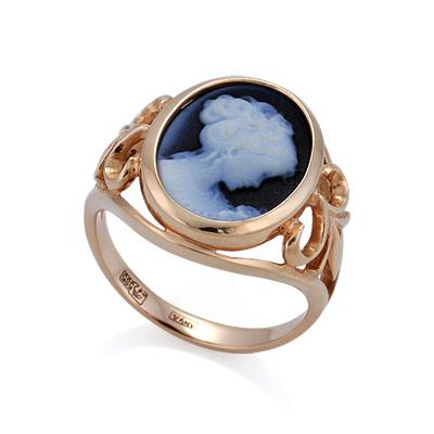 Кольцо с камеей 4.54 г SL-2223-536