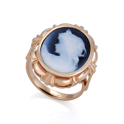 Кольцо с камеей 6.51 г SL-2226-685